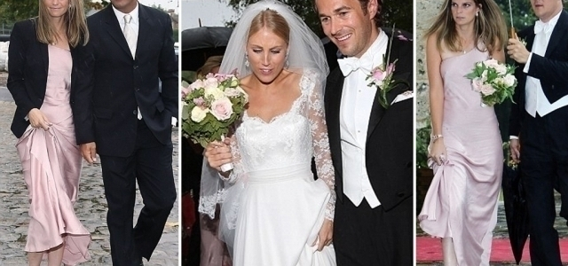 Athena Onassis Was Radiant As Bridesmaid At Her Sisters Wedding