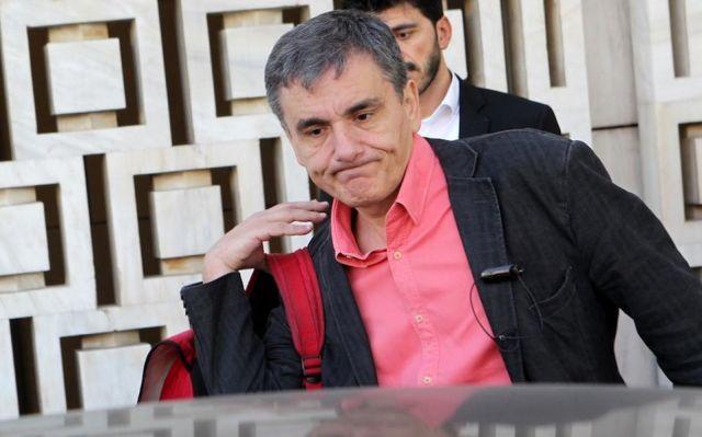 Гръцкият министър на финансите Евклидис Цакалотос